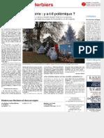 [Ouest France - les Herbiers (Vendée)] Crèche de Noël