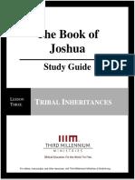 The Book of Joshua –Lesson 3 – Study Guide