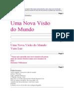 Vera Luz, Livro Um Novo Mundo