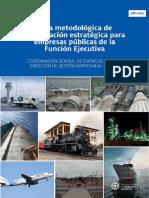 Guía Metodológica de Planificación Estratégica Para Empresas Públicas de La Función Ejecutiva