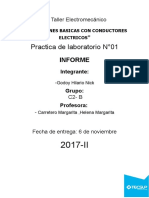 Informe Electromecanico 1 Godoy Hilario Nick c2 - b