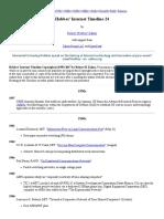 hobbes internet timeline - the definitive arpanet   internet history