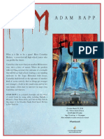 Fum by Adam Rapp Author's Note
