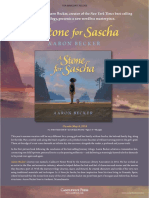 A Stone for Sascha by Aaron Becker Author's Note