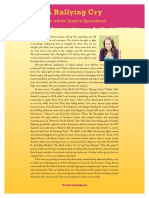 The Radical Element edited by Jessica Spotswood Author's Note