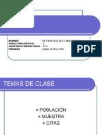 Poblacion y Muestra Civil