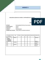 ANEXO 3 Creación de Codigo Usuario y Contraseña en El Siatdus