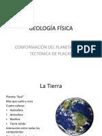 Estructura Tierra y Tectonica Placas