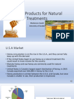 honey products for natural treatments