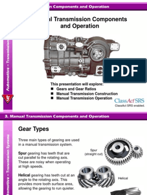 033ManualTransmissionComponentsandOperation ppt | Manual