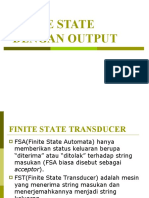 Finite State Dengan Output