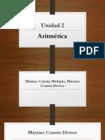 Mcm, Mcd y Fracciones (2)