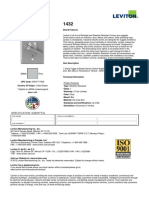 Product Spec or Info Sheet - 1432