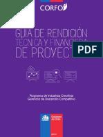 Guia de Rendición de Proyectos CORFO