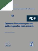 Cajamarca Lineamientos para una Política Regional de Medio Ambiente.pdf