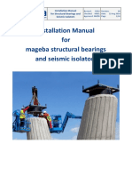 Mageba bridge bearings and seismic isolators - Installation Manual - 201.pdf