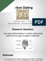 Carbon Dating Ibmm2 Hl Ia
