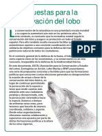 Doce Propuestas preservar al Lobo