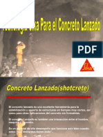 Concreto Lanzado 2008-2
