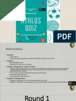 Athlos Quiz Event