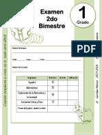 1er Grado - Examen Bloque 2 (2017-2018)2