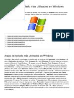 Los Atajos de Teclado Mas Utilizados en Windows 90 Owkb6y