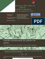 Diseño Estructural de Pilotes de Acero