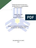 2015 - MANUAL DE ARTIGO CIENTIFICO 2015.pdf