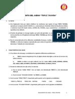 Reglamento Triple Táchira