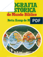 Geografia Historica Do Mundo Biblico Netta Kemp de Money