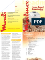 Bread Maker Recipe Book