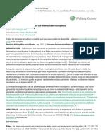 Enfoque de Diagnóstico Para El Adulto Que Presenta Fiebre Neutropénica - UpToDate