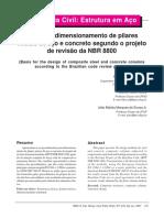 Base Para Dimen de Pilares Segundo NBR