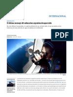 ARA San Juan_ El Último Mensaje Del Submarino Argentino Desaparecido _ Internacional _ EL PAÍS