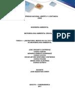 Tarea 4 (b y c). Medios de Cultivo y Tecnologías de Microbiología Ambiental