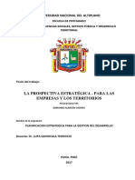 RESUMEN-La Prospectiva Estratégica11