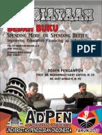 Bedah Buku Pembiayaan Di Indonesia_spending More or Spending Better