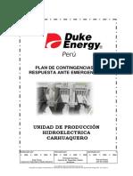 Plan de Contingencia Carhuaquero Rev 12 - Ambientales y de Seguridad y Salud