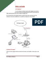 4-Dirección IP Pública y Privada