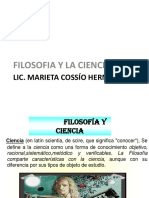 Tema 3; Filosofia y Ciencia.