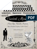 Cuvant Masonic Romana 2016