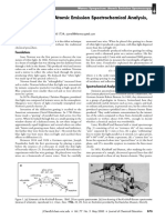 Brief History of Atomic Emission Spectrochemical Analysis