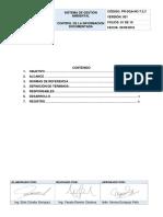 7.5.3.Control de La Información Documentada
