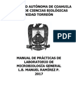 5.- Manual de Laboratorio Microbiología General Enero 2017