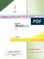 Tablas en Word 2012
