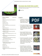 Resep Martabak Telur (Kulit Bikin Sendiri) Oleh Desy Titis - Cookpad