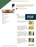 Resep Brownies Alpukat #BrowniesAlpukat...Wiek H Ginting (CnC Kitchen) - Cookpad