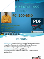 Periodic Servis 1ooo Hours New