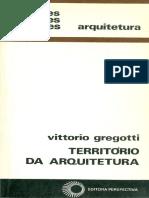Gregotti-Território Da Arquitetura