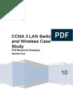 Ccna 3 Case Study